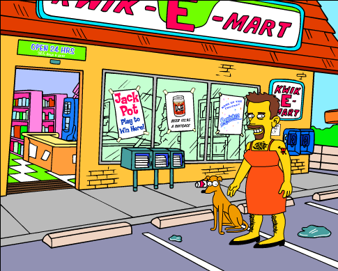 At The Kwik E Mart